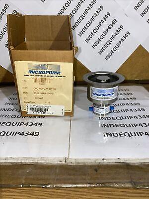 Micropump Model Ga-v21.cfs.g Magnetic Drive Gear Pump. Loc13b3