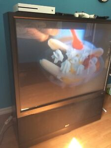 Widescreen Projection TV