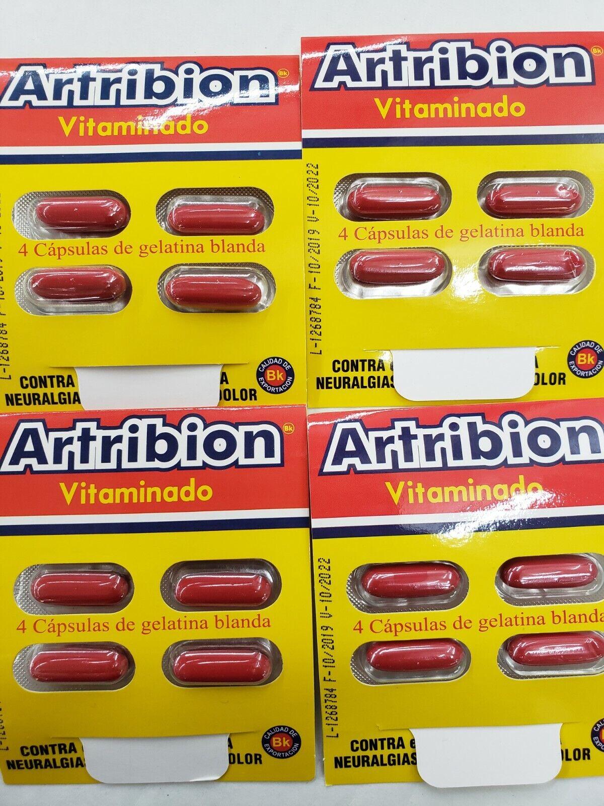 Artibion Vitaminado 4 Sobres(16 Capsulas)