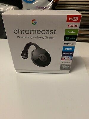 Google Chromecast 2 Digital HD Media Streamer 2nd Generation Black New
