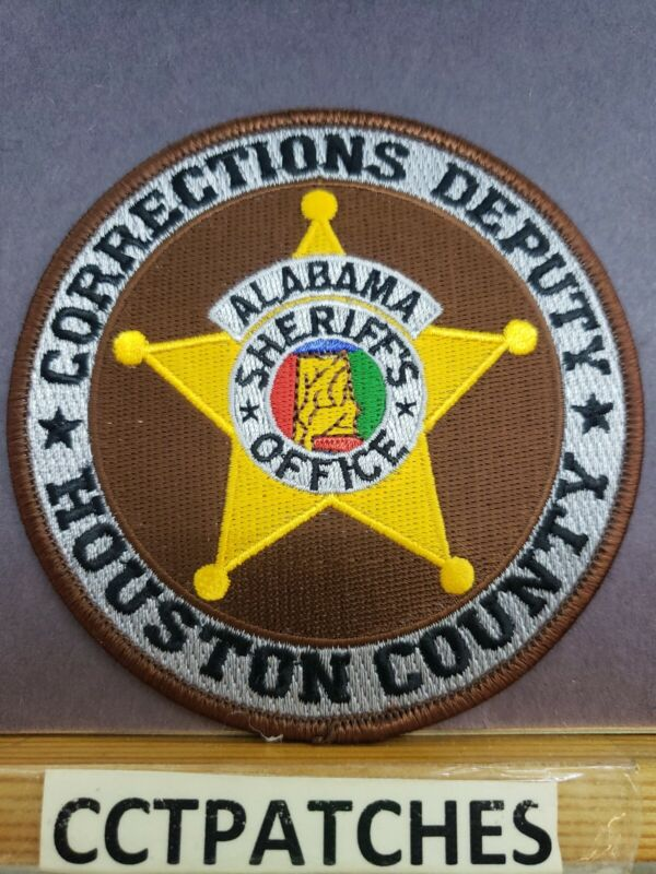 HOUSTON COUNTY, ALABAMA CORRECTIONS SHERIFF (POLICE) SHOULDER PATCH AL