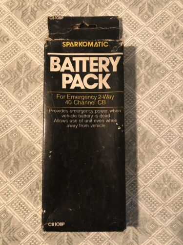 battery pack for emergency 2 way 40