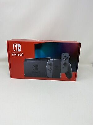 Nintendo Switch 32GB Console V2 Gray (NEWEST) Brand New SHIPS SAME BUSINESS DAY