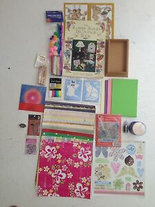 Huge assortment of (brand new) crafts, stamps, x-stitch & kits! Fun! Indooroopilly Brisbane South West Preview