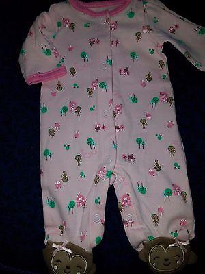 Preemie baby girl footie Simple Joys by Carter