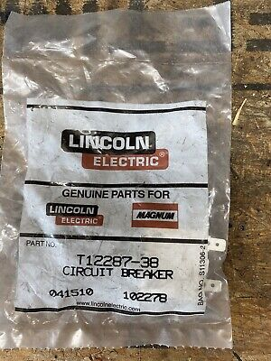 New Lincoln Oem Pipeline Welder 20 Amp Circuit Breaker T12287-38 1680-282-200