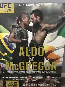 Mcgregor vs also ufc poster