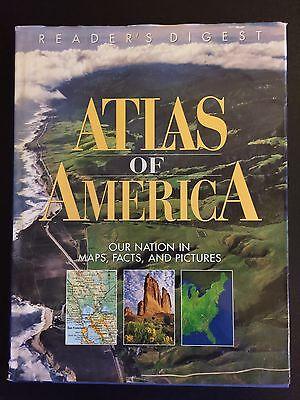 Atlas of America by Reader's Digest Editors (1998, Hardcover)