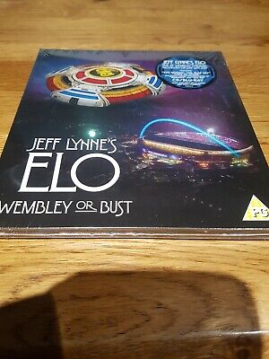 Jeff lynne's ELO wembley or bust 2cd plus blu-ray dvd mint & sealed.