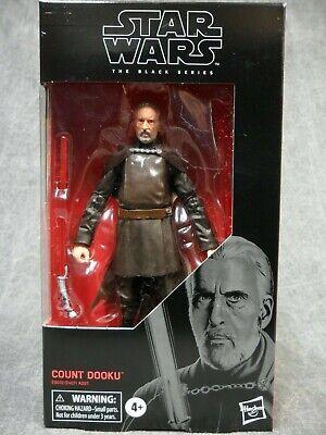 Star Wars Black Series NEW * Count Dooku * #107 Action Figure 6-Inch Hasbro