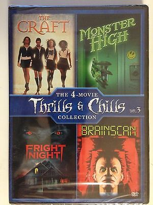 The Craft  / Monster High / Fright Night  / Brainscan 4PK (DVD)(NEW)