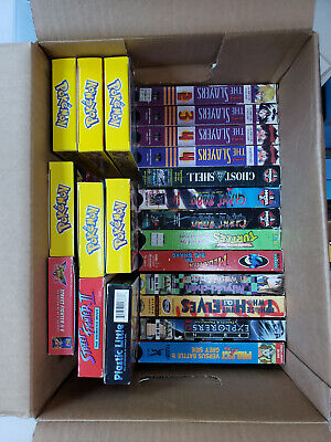 HUGE (39 tapes) Anime VHS Bundle: Slayers, Pokemon, DBZ, Ghost in Shell, etc.