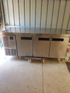 Commercial bench fridge Skope.