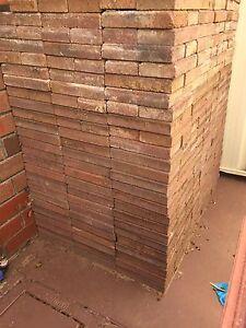 Clay Red Brick Pavers Salisbury Heights Salisbury Area Preview