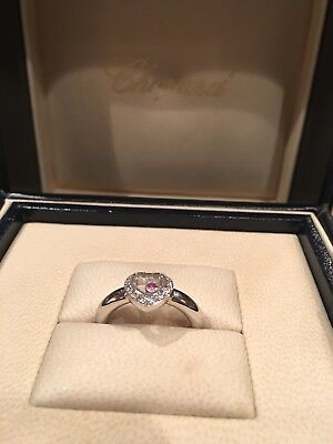 Chopard Happy Diamond Ring 18k Size 6