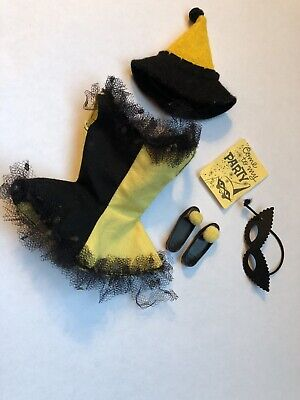 Masquerade Halloween Invitations (VINTAGE BARBIE SKIPPER 1903 MASQUERADE Halloween)