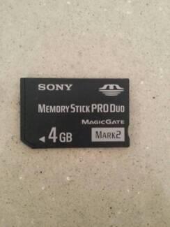 Sony Memory Stick PRO Duo 4GB (Original)