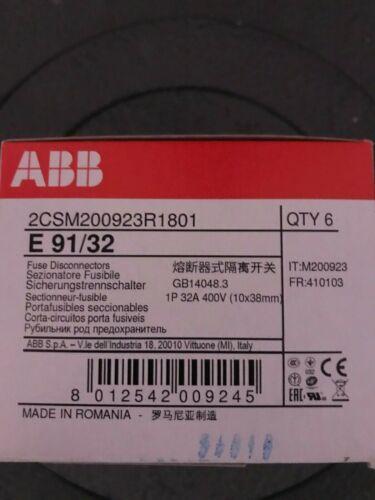 ABB E 91/32 Fuse switch disconnector