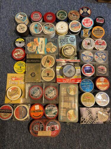 Vintage Fishing Line Spools Lot
