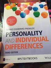 Personality and Individual Differences (Tomas Chamorro-Premuzic) Lathlain Victoria Park Area Preview