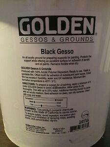 Black Gesso from Delta ART worth $130 ONLY $65