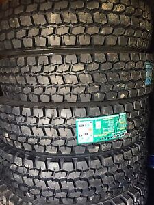 New Semi Tires LongMarch Full Warranty 11r24.5 11r22.5