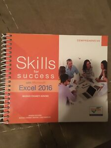 Skills for success excel 2016 textbook