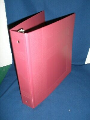Injection Molded Antimicrobial 3 Ring Binder 2 Inch- 6 Binders
