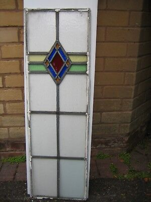Decorative Leaded Stained Glass consisting of five colours