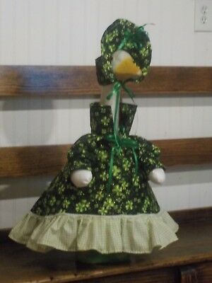 St Pattys Day Outfit (Silly Goose:Lucky Shamrocks for St.Patty's Day Goose Outfit bySilly)