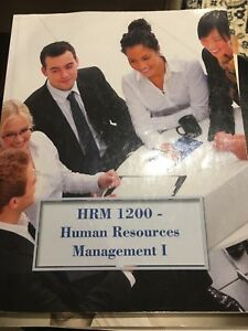 HRM 1200 - Human Resources Management I