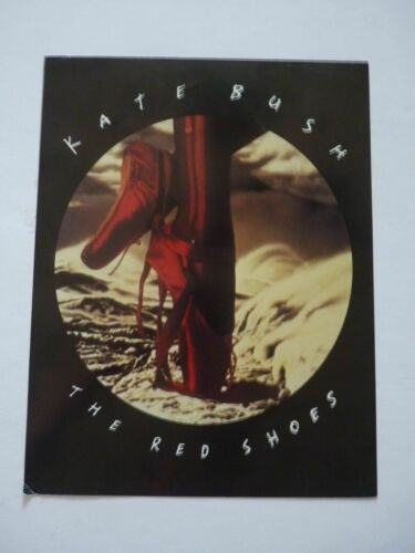"1993 Kate Bush The Red Shoes Promo 8.5""x11"" Poster/LP/Record/Photo/Flat/Free SH!"