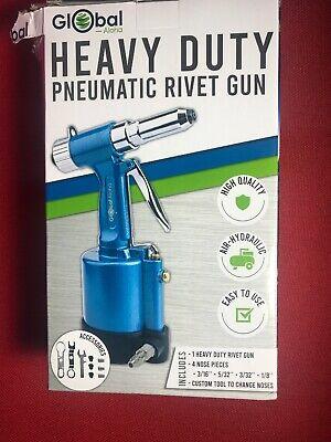 Heavy Duty Air Hydraulic Riveter-professional Pop Pneumatic Riveting Gun Rivet T