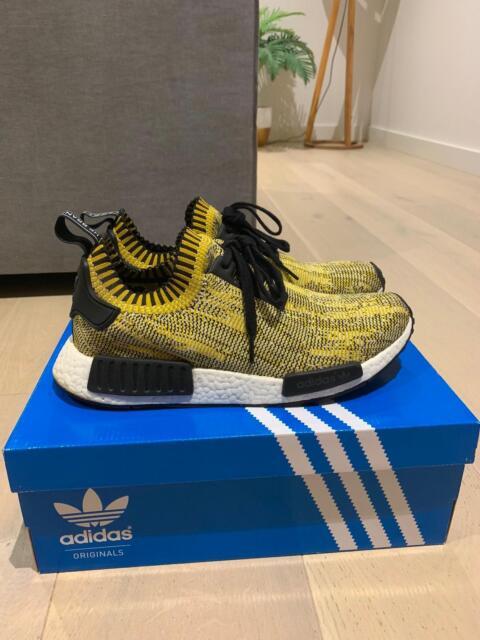 7507a5f809b3e Dd Adidas nmd yellow camo Size 9.5 us | Men's Shoes | Gumtree ...