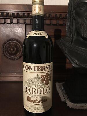 Barolo Docg Monfortino riserva 2014 G. Conterno 100 pp vino rosso