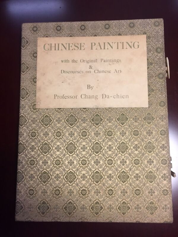 Chang Dai-Chien Chinese Painting  Book  First Edition 1961