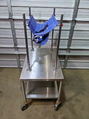Bosio Veterinary Exam Procedure Table Stainless Steel Animal Restraint Systems