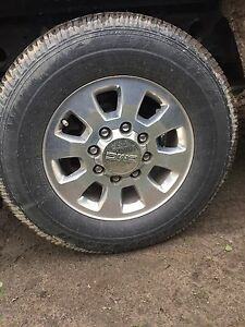 4 265 70 R18 Good year Wrangler SR-A (Tires Only)