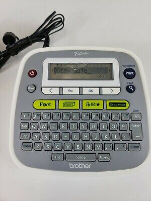 Brother P-touch Pt-d200 Label Maker Printer Home And Office Equipment With Label