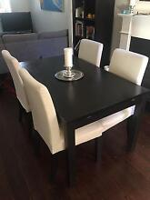 $600+ dining table and 4 chairs going for $275 Paddington Eastern Suburbs Preview