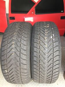 255-60-17 Goodyear SUV snow tires