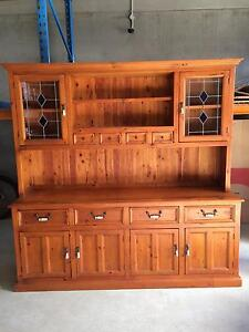 Timber Cabinet - Pine Wood Wooden Large Cabinet Wyoming Gosford Area Preview