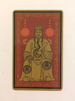 2018 FENG SHUI TAI SUI CARD AMULET GRAND DUKE USA SELLER