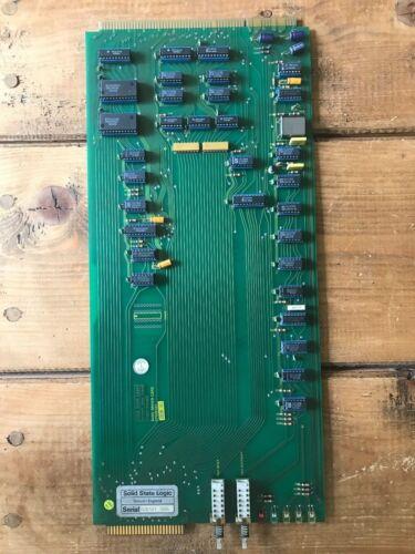SSL Solid State Logic Studio Computer Card 82e121 Buss Driver G+