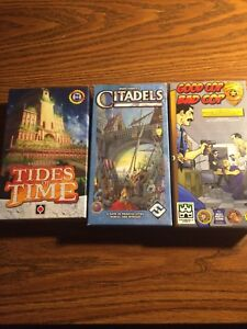 Small board games - all like new and all pieces