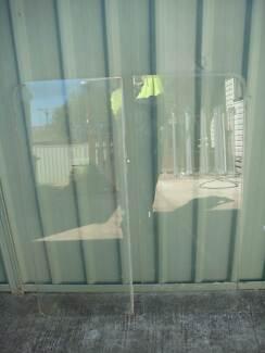 Price dropped !!! 2 pieceof glass,already cut for a caravan Lethbridge Park Blacktown Area Preview