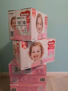 New stage 5 Huggies ultra dry diapers