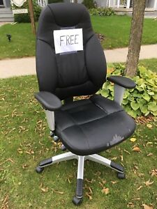 Curb Alert - FREE Office Chair
