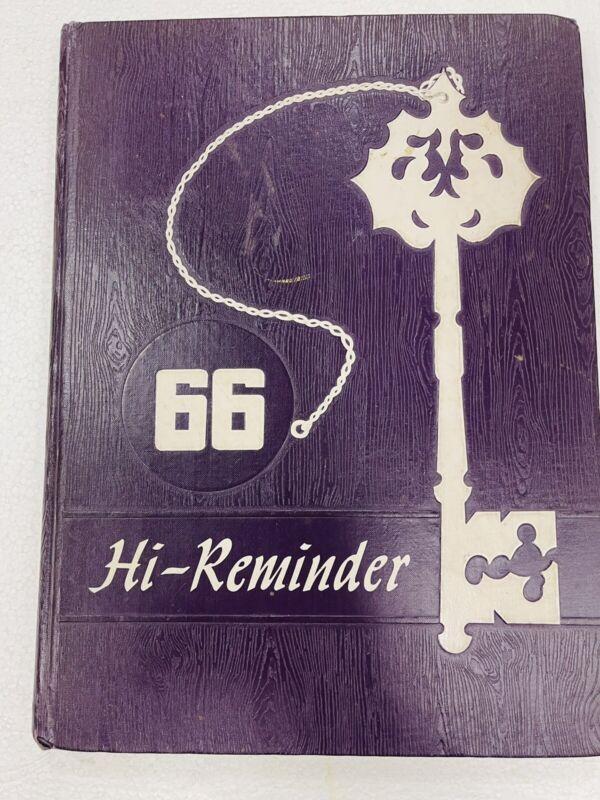 1966 Herscher Illinois High School Yearbook HI-REMINDER