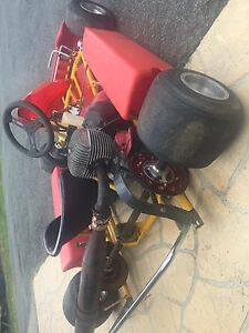 100cc Two Stroke Go Kart Worongary Gold Coast City Preview